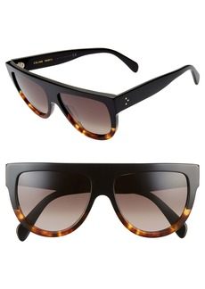CELINE 58mm Universal Fit Flat Top Sunglasses