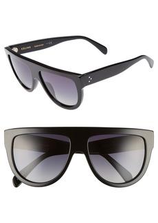 Celine Céline 58mm Pilot Sunglasses