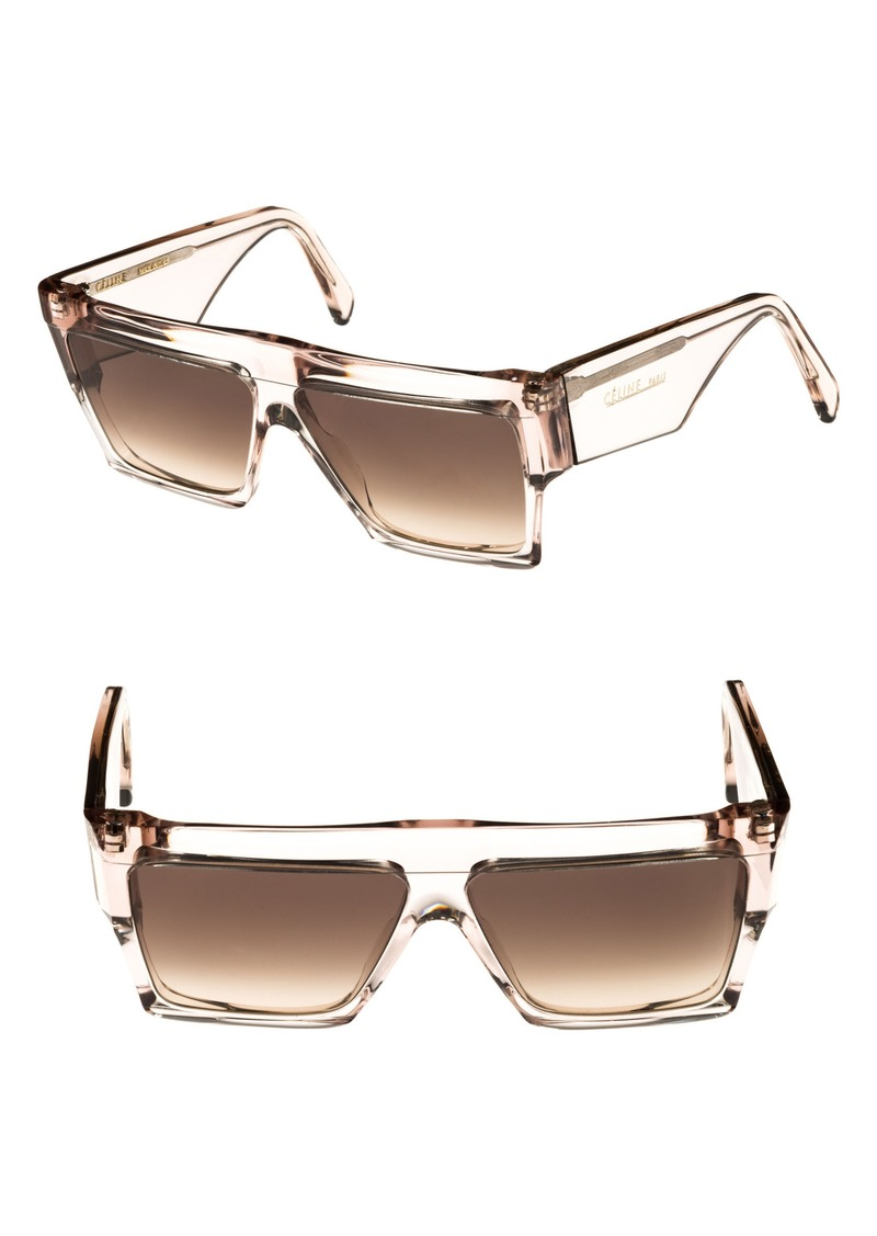 66dd934d45747 Celine CELINE 60mm Flat Top Sunglasses