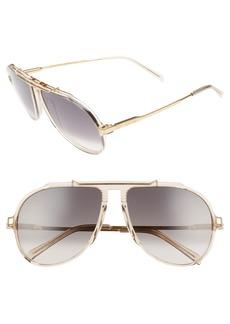 Celine Céline 60mm Gradient Aviator Sunglasses