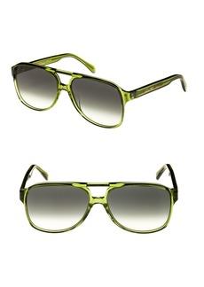 Celine Céline 62mm Oversize Aviator Sunglasses