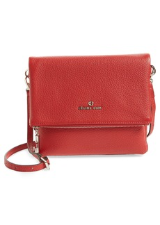 Celine Céline Dion Adagio Leather Crossbody Bag