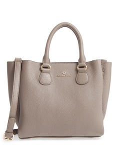 Celine Céline Dion Small Adagio Leather Satchel