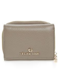 Celine Céline Dion Small Adagio Leather Wallet