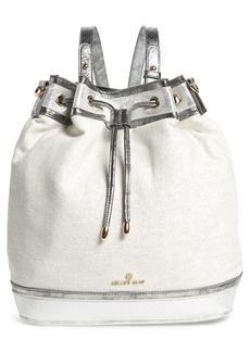 Celine Céline Dion Soft Metallic Convertible Backpack