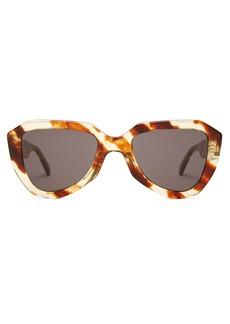 Celine Céline Eyewear Aviator acetate sunglasses