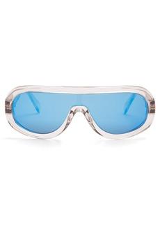 Celine Céline Eyewear Aviator-frame acetate sunglasses