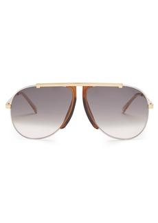 Celine Céline Eyewear Aviator-frame sunglasses