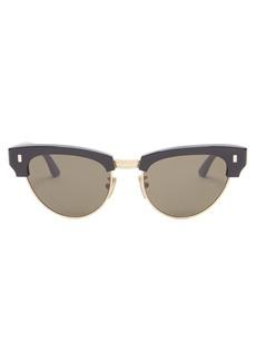 Celine Eyewear Aviator metal sunglasses