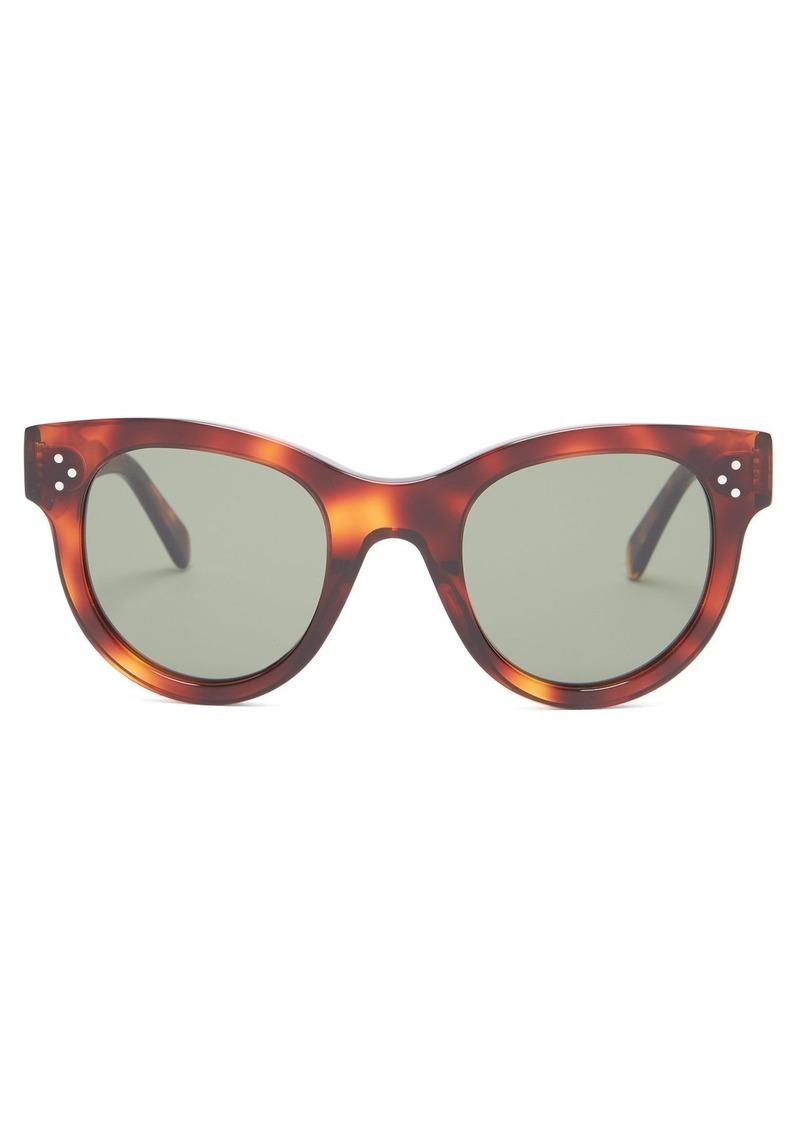 87dc58e8eabd Celine Céline Eyewear Baby Audrey cat-eye acetate sunglasses ...