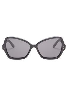Celine Céline Eyewear Butterfly acetate sunglasses