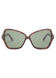 Celine Eyewear Butterfly cat-eye acetate sunglasses