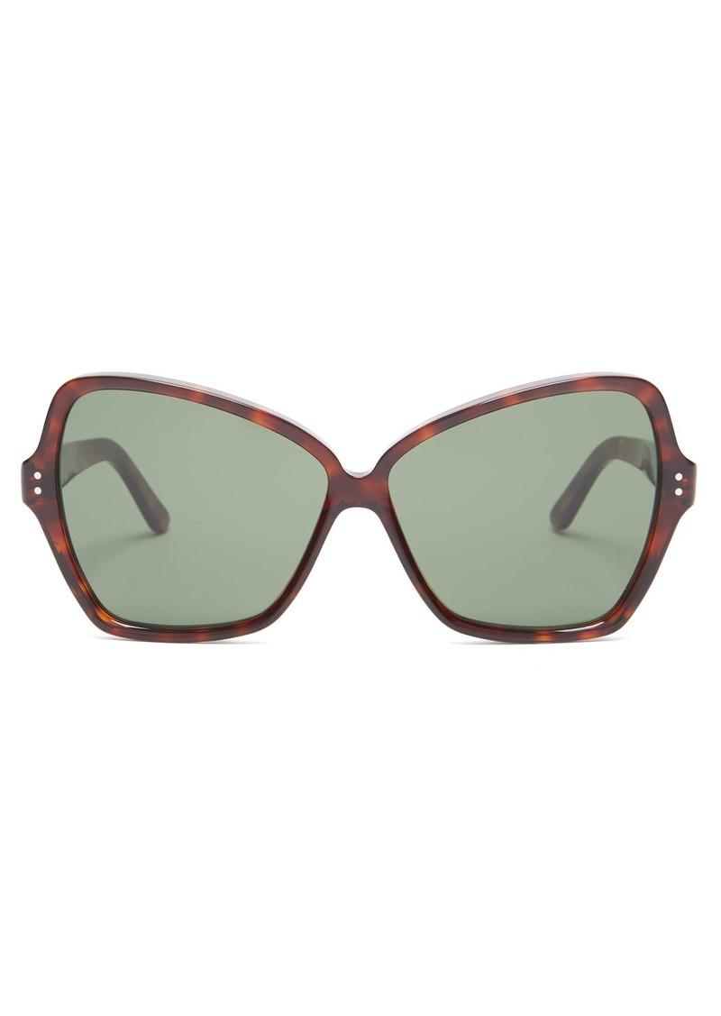 1d2544b07fe6 Celine Céline Eyewear Butterfly cat-eye acetate sunglasses