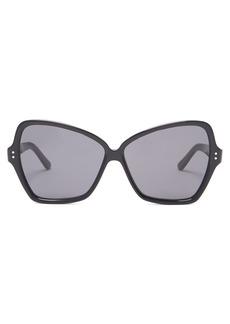 Celine Céline Eyewear Butterfly large acetate sunglasses