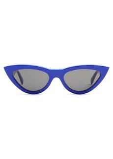 Celine Céline Eyewear Cat-eye acetate sunglasses
