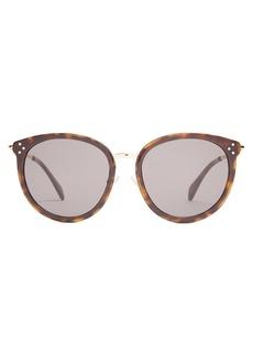 Celine Céline Eyewear Cat Eye round-frame sunglasses