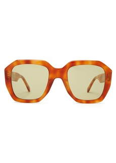 Celine Céline Eyewear Cat-eye square-frame acetate sunglasses