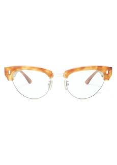 Celine Céline Eyewear Cat-eye tortoiseshell acetate sunglasses