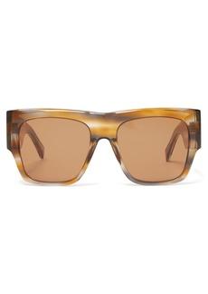 Celine Céline Eyewear Flat-top acetate sunglasses