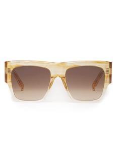 2499fd296a3 Celine CELINE 54mm Polarized Flat Top Sunglasses