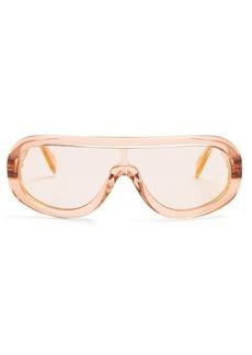 Celine Céline Eyewear Mask acetate sunglasses