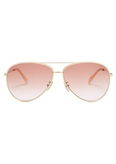 Celine Eyewear Metal aviator sunglasses