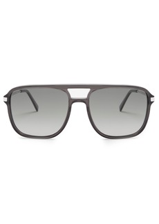 Celine Céline Eyewear Navigator acetate sunglasses