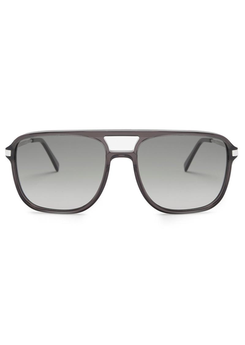 7d929b237c4 Celine Céline Eyewear Navigator acetate sunglasses Now  348.00