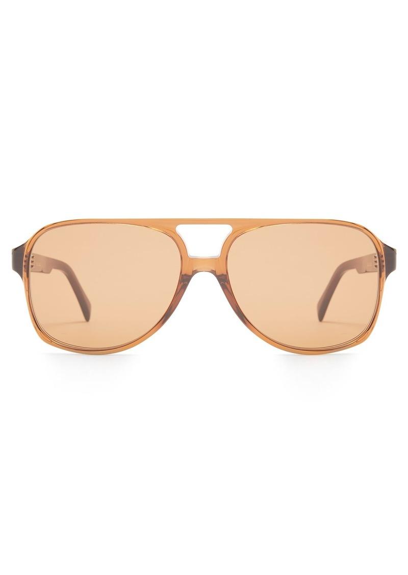 55ca593fe32f8 Celine Céline Eyewear Navigator acetate sunglasses