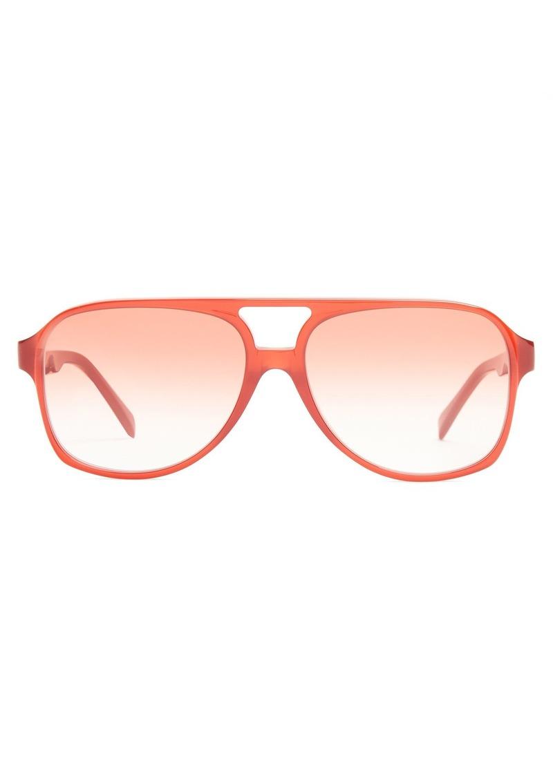 29abfb3e3e54b SALE! Celine Céline Eyewear Navigator aviator-frame sunglasses
