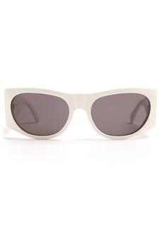 Celine Céline Eyewear Oval acetate sunglasses
