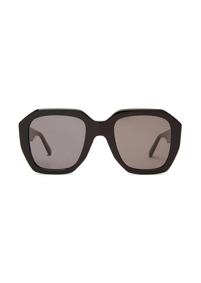 6d5603f4742 Celine Céline Eyewear Oversized acetate sunglasses