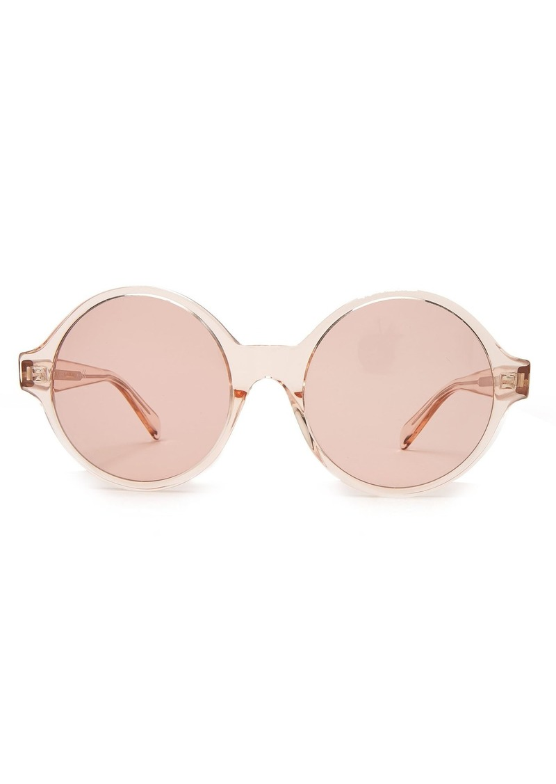 4b39e41273 Celine Celine Eyewear Oversized round-frame acetate sunglasses ...