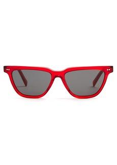 Celine Céline Eyewear Rectangular acetate sunglasses