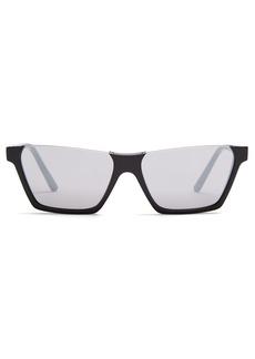 Celine Céline Eyewear Rectangular-frame acetate sunglasses