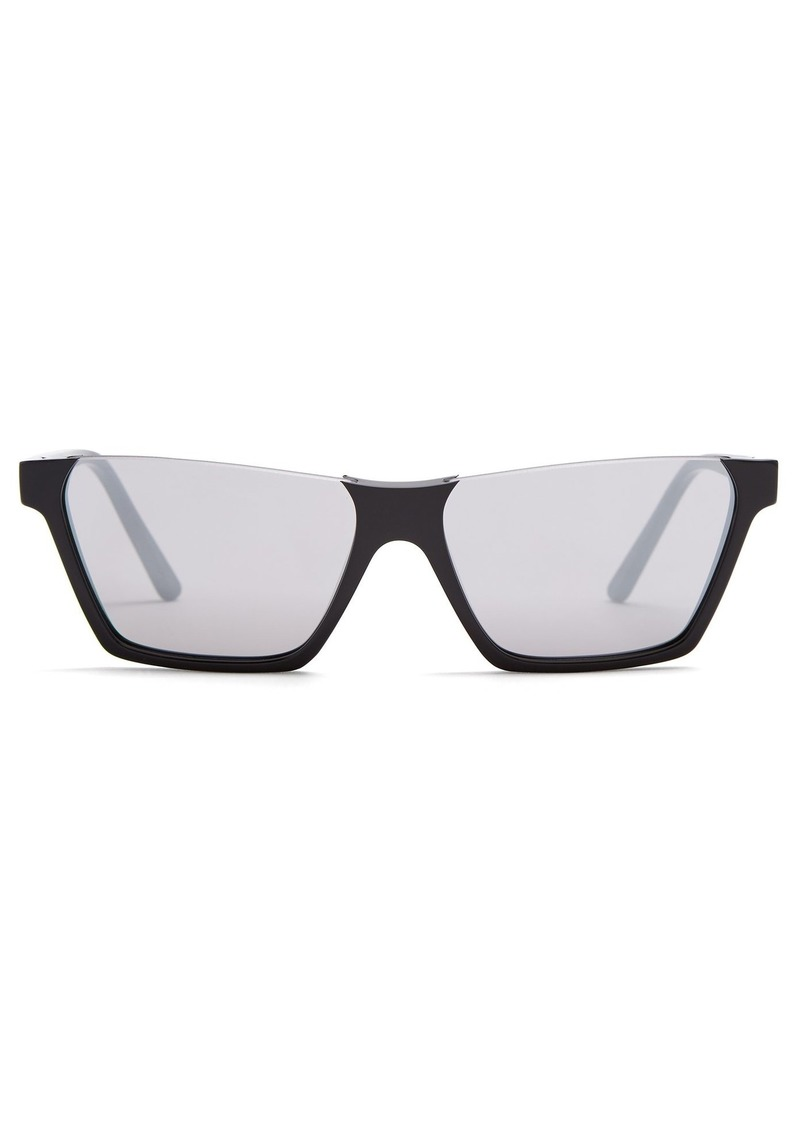 8e1d654e98201 Celine Céline Eyewear Rectangular-frame acetate sunglasses