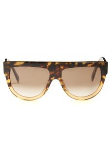 Celine Céline Eyewear Shadow aviator D-frame acetate sunglasses
