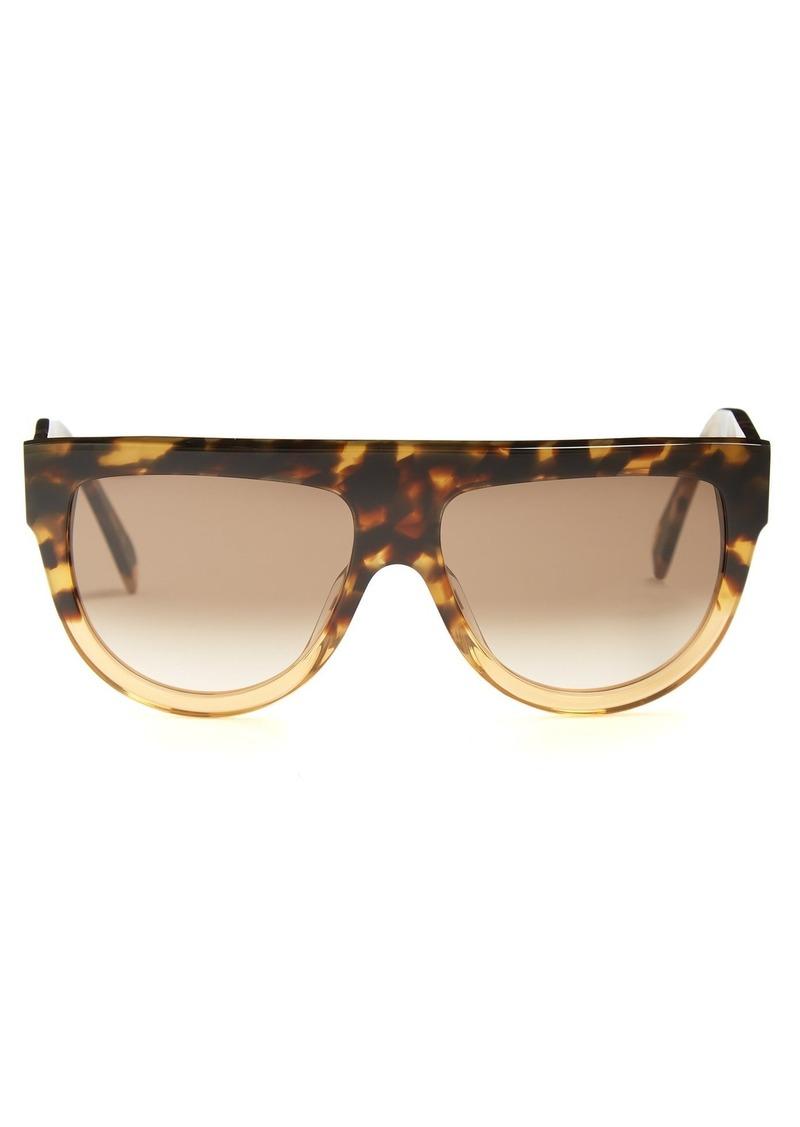 0f09baa551ad Celine Celine Eyewear Shadow aviator D-frame acetate sunglasses ...