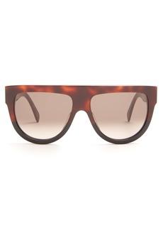 Celine Céline Eyewear Shadow D-frame acetate sunglasses