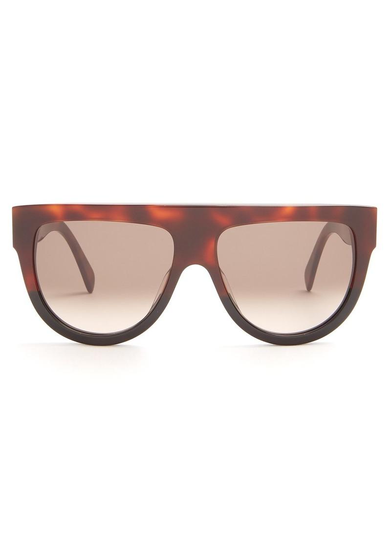 0502c2c16007 Celine Celine Eyewear Shadow D-frame acetate sunglasses