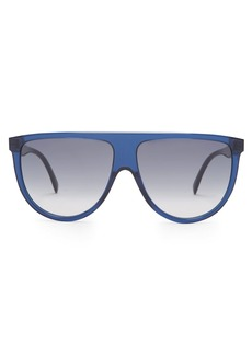 Celine Céline Eyewear Shadow D-frame aviator sunglasses