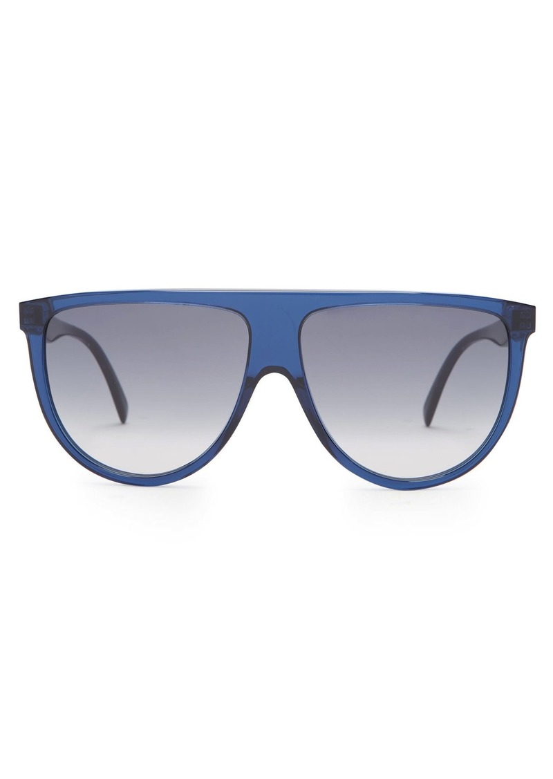 28ff42df398 Celine Celine Eyewear Shadow D-frame aviator sunglasses