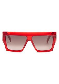 Celine Céline Eyewear Square acetate sunglasses