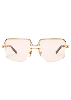 Celine Céline Eyewear Square aviator-frame sunglasses