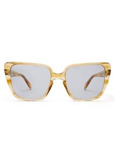 Celine Céline Eyewear Square cat-eye acetate sunglasses
