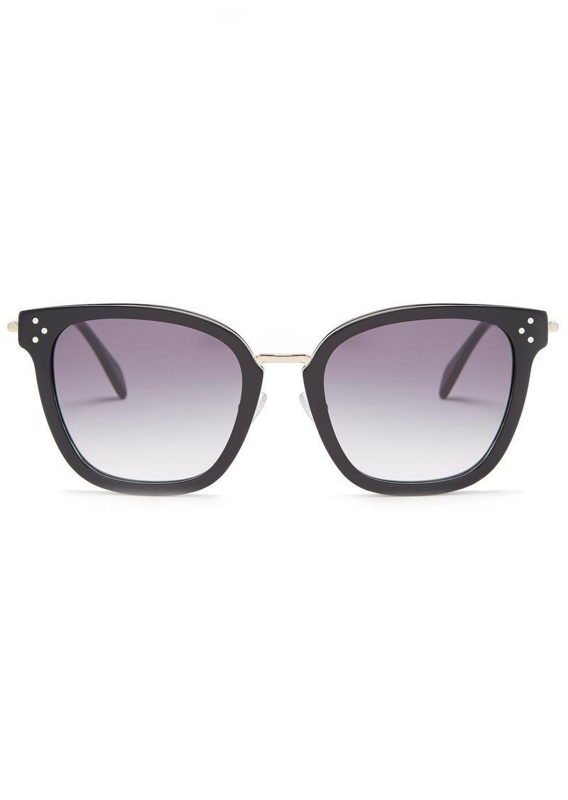 101ef36d01 Celine Céline Eyewear Square-frame acetate sunglasses