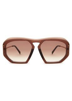 Celine Céline Eyewear Square-frame acetate sunglasses