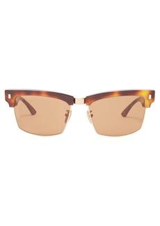 Celine Céline Eyewear Square-frame tortoiseshell sunglasses