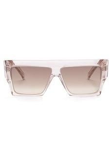 Celine Céline Eyewear Squared aviator-frame acetate sunglasses