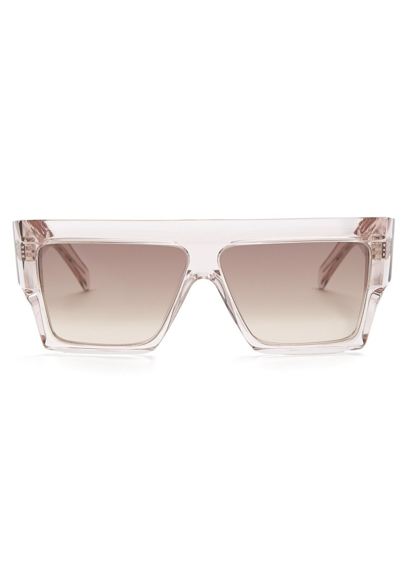 30859d28be94 On Sale today! Celine Céline Eyewear Squared aviator-frame acetate ...